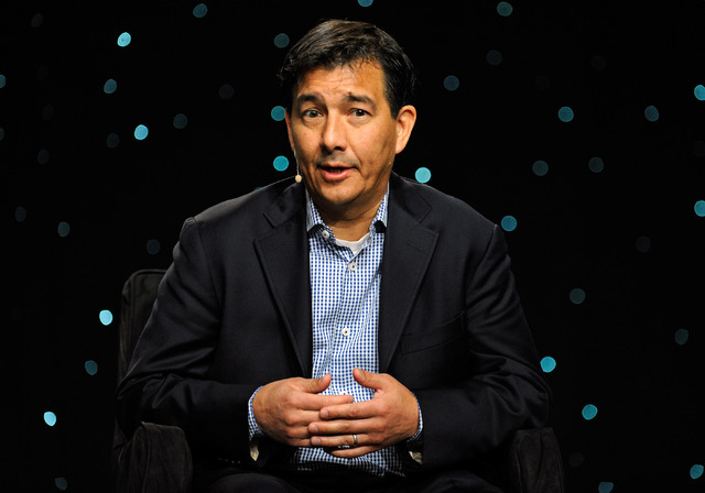 John Harte of Mapetsi Policy Group speaks during the tribal gaming keynote round table discussion at G2E at the Sands Expo and Convention Center on Thursday, Sept. 26, 2013. (David Becker/Las Vega ...