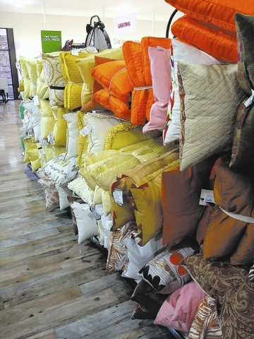 Pillows pack a punch in rainbow of colors, patterns | Las ...