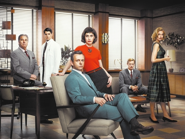 Beau Bridges as Barton Scully, Nicholas D'Agosto as Dr. Ethan Haas, Michael Sheen as Dr. William Masters, Lizzy Caplan as Virginia Johnson, Teddy Sears as Dr. Austin Langham and Caitlin Fitzgerald ...