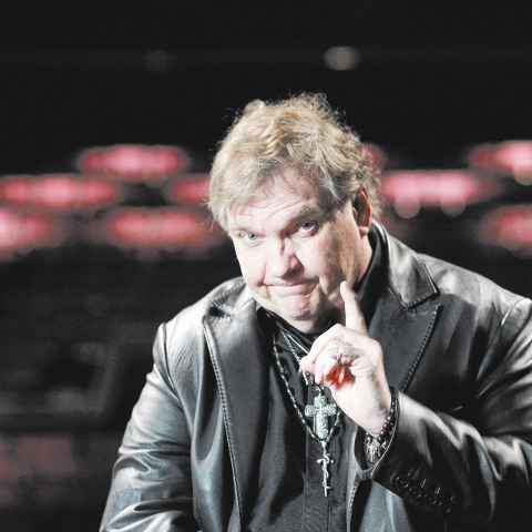 Meatloaf has a new show planned for the Planet Hollywood resort and casino in Las Vegas. Photographed on stage at the Planet Hollywood in Las Vegas Thursday, Aug. 22, 2013. (John Locher/Las Vegas  ...
