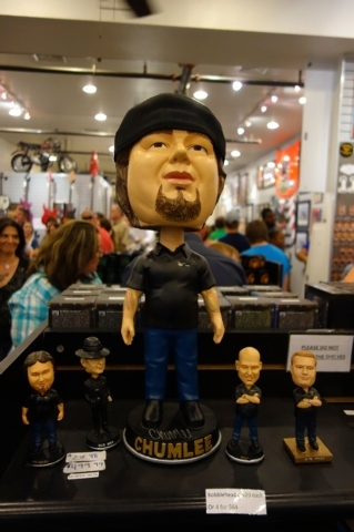 """The $500 """"Chumlee"""" bobble-head doll. (Norm Clarke/Las Vegas Review-Journal)"""