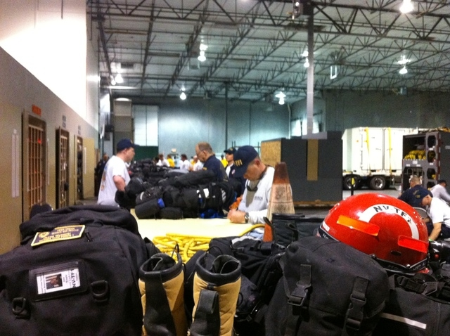 The caravan will be hauling over 50,000 pounds of rescue equipment to the Fort Collins area. (Courtesy Stacey Welling)