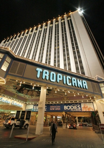 Mitzi Stauffer Briggs, who died Sunday at age 84, lost millions investing in the Tropicana in 1975. (AP Photo/Jae C. Hong)