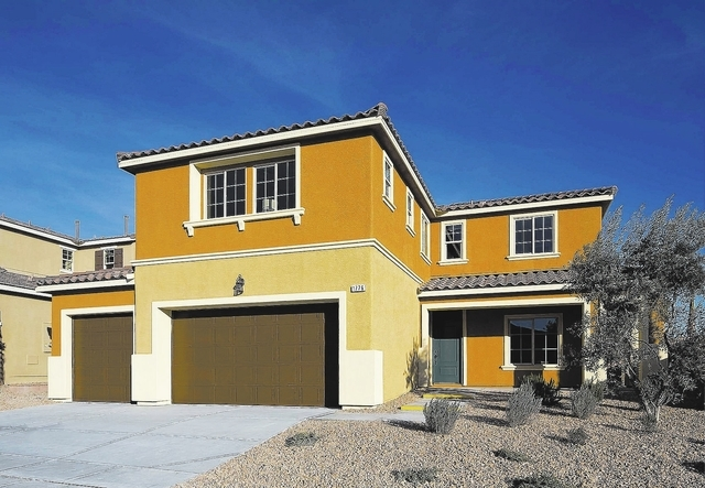 Plan 3-X is the model home for LivingSmart Homes Eldorado Heights.