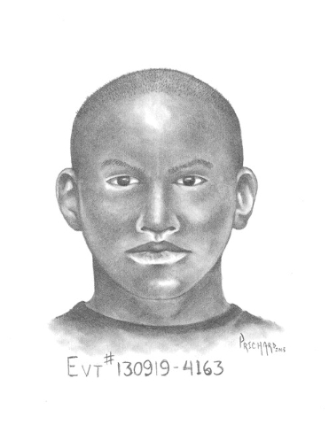 Police have released this composite sketch of the suspect. (LVMPD)