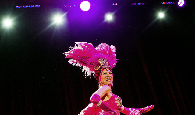 Diane Carozza during the  Ms. Senior Nevada Pageant at  the South Point Casino-Hotel Showroom on Wednesday, Aug. 21, 2013. This is the 28th annual for the Nevada pageant.(Jeff Scheid/Las Vegas Rev ...
