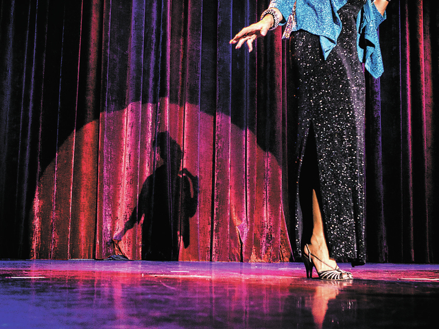 Kathleen (Kat) Ray during the  Ms. Senior Nevada Pageant at  the South Point Casino-Hotel Showroom on Wednesday, Aug. 21, 2013. This is the 28th annual for the Nevada pageant.(Jeff Scheid/Las Vega ...