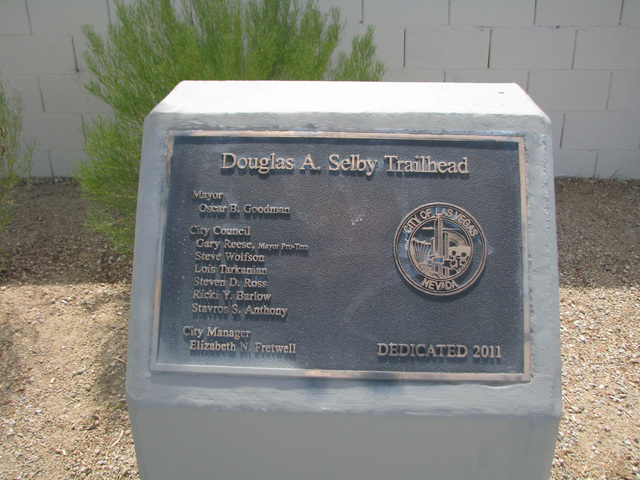 The Douglas A. Selby Park and Trailhead was dedicated in 2011. (F. Andrew Taylor/View)