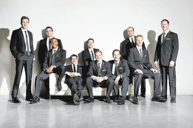 "Straight No Chaser has released four albums, most recently ""Under the Influence,"" which came out in May. (Courtesy/Andrew Zaeh)"