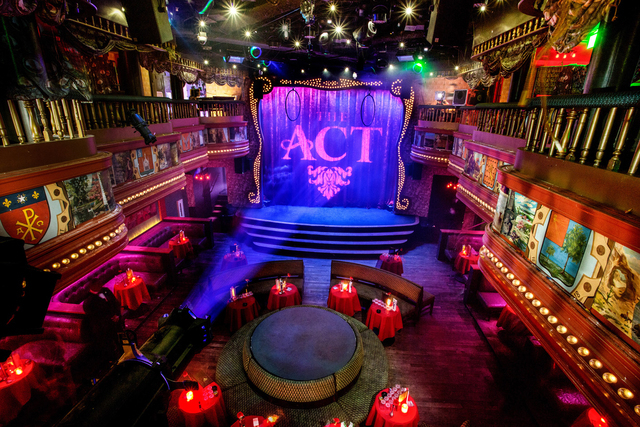 This image provided by The Act nightclub shows the interior of the club located at the Palazzo hotel-casino on the Las Vegas Strip. The Palazzo  is hoping to terminate their 10-year agreement with ...