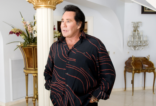 CRAIG L. MORAN/LAS VEGAS REVIEW-JOURNAL News-- Singer Wayne Newton at his Shenandoah Ranch home in Las Vegas, Nevada, Wednesday October 20, 2010.