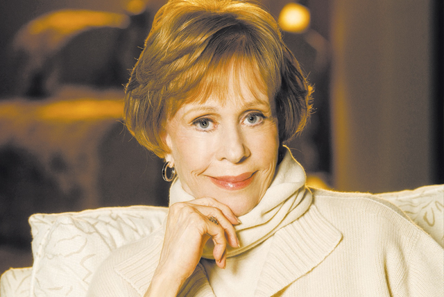 Carol Burnett will be taking questions from the audience during her show at The Smith Center for the Performing Arts. (Courtesy)