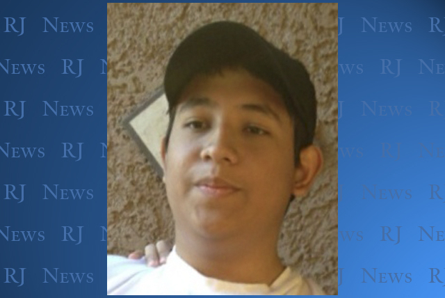 Adrian Navarro-Canales, wanted in the stabbing deaths of his mother and brother, was arrested by Henderson Police Wednesday morning.