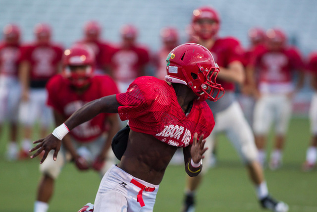 The Arbor View Aggies make their season debut tonight when they host Centennial. (Chase Stevens/Las Vegas Review-Journal)