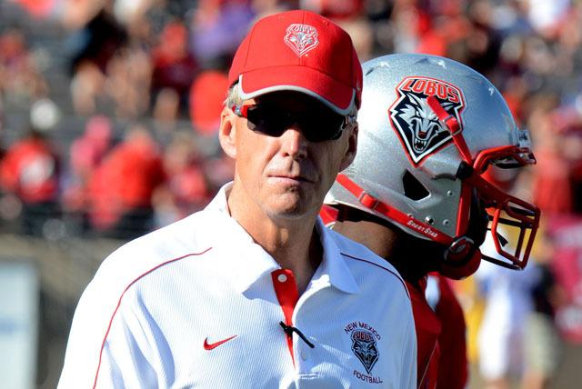 New Mexico Lobos head coach Bob Davie. COURTESY PHOTO