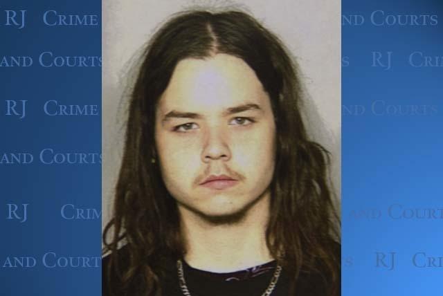 A police booking mug of Richard Freeman, 18, released on Feb. 18, 2010. (Courtesy of Las Vegas Metropolitan Police Department)