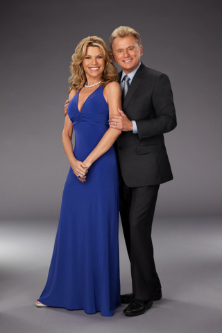 Pat Sajak and Vanna White, Co-Hosts, Wheel of Fortune