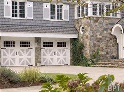 Find classic style in carriage house garage doors
