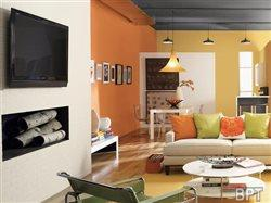 Colorful accents create extraordinary spaces