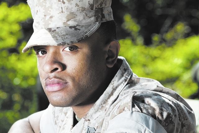 African American Marine
