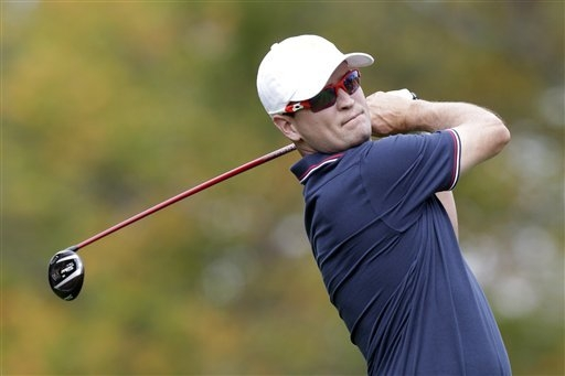U.S. team player Zach Johnson will compete in this year's Shriners Hospitals for Children Open, which begins Thursday at TPC Summerlin. (AP Photo/Jay LaPrete)