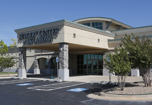 The Surgery Center of Oklahoma in Oklahoma City is shown. The center posts their prices on their website and say they offer better deals than other providers because they dont charge a huge facili ...