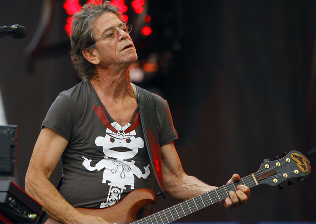 Lou Reed performs at the Lollapalooza music festival on Aug. 9, 2009, in Chicago. Punk-poet, rock legend Lou Reed has died of a liver-related ailment, his literary agent said Sunday. He was 71.  ( ...