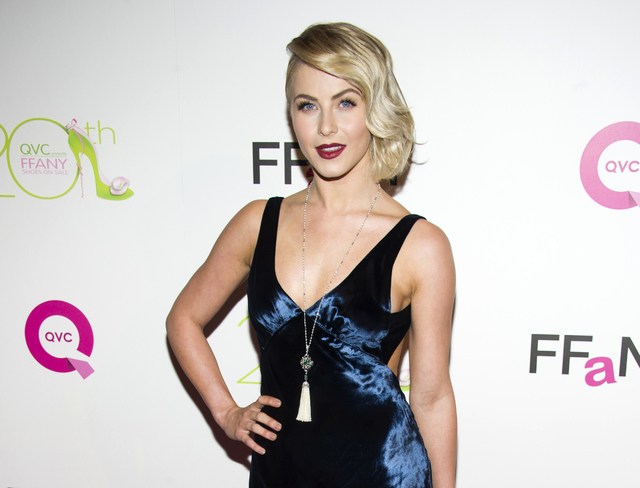 "FILE - This Oct. 1, 2013 file photo shows actress Julianne Hough at the 20th Annual ""FFANY Shoes on Sale"" Gala presented by QVC and FFANY in New York. Hough apologized on Twitter amid cr ..."