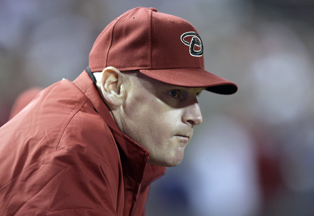 Arizona Diamondbacks coach Matt Williams watches a game against the Cincinnati Reds, in Phoenix. Williams is the new manager of the Washington Nationals. (AP Photo/Paul Connors, File)