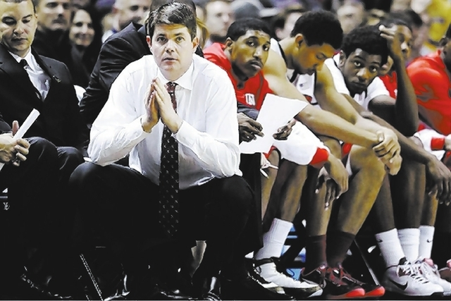 Under coach Dave Rice, UNLV has gotten to the NCAA Tournament both years and lost as the higher seed each time, leaving the program on uncertain footing amid a major roster turnover next season.