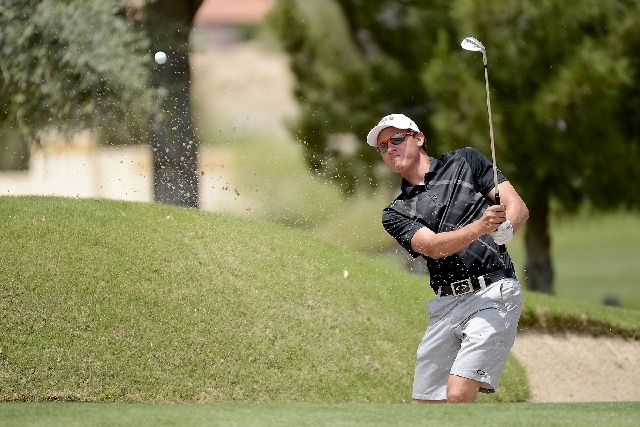 Former UNLV golf star Kevin Penner is hoping for a good week at the Shriners Hospitals for Children Open. (Review-Journal File Photo)