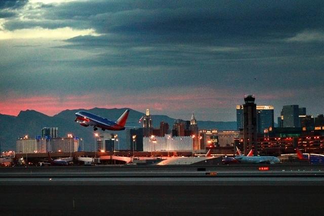 New Sands hangar at McCarran hails the whales | Las Vegas