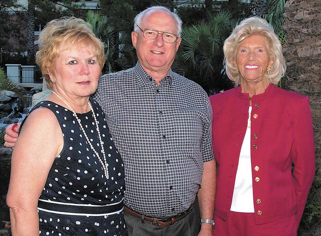 Elizabeth Foyt, from left, John Wanderer and Sandra Frank. (Courtesy)