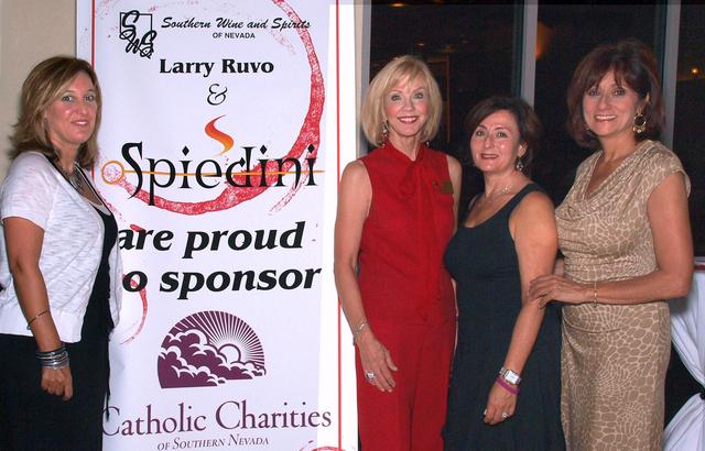 Donna Rainone, from left, Patricia Trent Morrissey, Camille Leavitt and Cindy Gorino. (Courtesy)