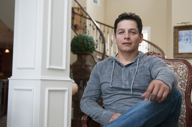 Walter Trujillo, a Venezuelan national and legal United States resident, poses for a photo at his home in Las Vegas, Nev., Thursday, Oct. 10, 2013. The Nevada Supreme Court ruled against Trujillo  ...