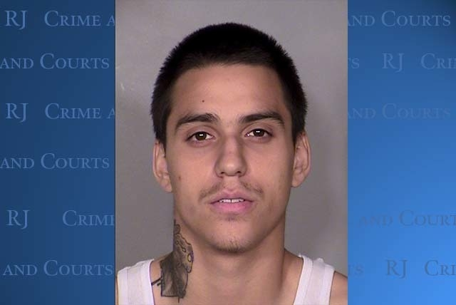 Fabian Diaz and William Copeland, 19, were arrested Sept. 28 after Copeland shot 71-year-old Dixie Chaney near H Street and Monroe Avenue, according to Las Vegas police. (Courtesy)