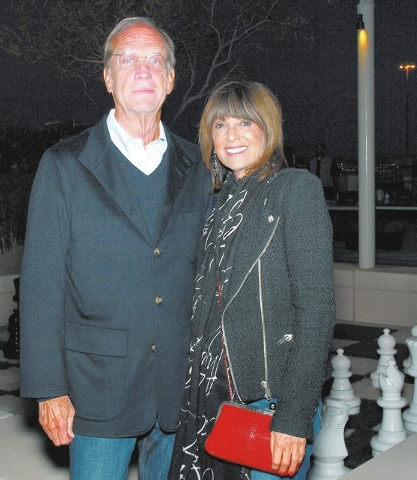Mike Sloan and Barbara Molasky