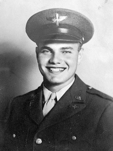 World War II veteran Ed Turken was an air cadet in 1943. (Courtesy/Ed Turken)