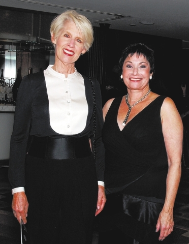 Susan Miller, from left, and Judi Steele (Marian Umhoefer/Las Vegas Review-Journal)