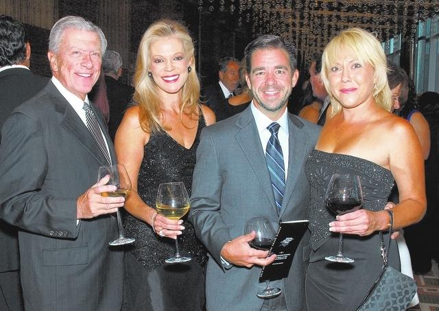 Bob and Irais Kolesar, from left, Ken Rubeli and Stephanie Kundin (Marian Umhoefer/Las Vegas Review-Journal)
