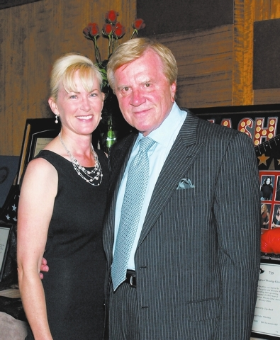 Lori and Sig Rogich (Marian Umhoefer/Las Vegas Review-Journal)