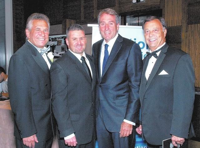 Steve Schorr, Darrin Schorr, Mark Fine, and Jim Livengood. (Marian Umhoefer/Las Vegas Review-Journal)