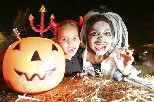 The weather for trick-or-treating on Halloween will be cool and clear. (Las Vegas Review-Journal file)