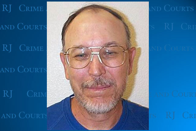 Eric Zessman, now 59, is shown in a 2006 police mug. He was arrested Monday in Las Vegas for parole violations.