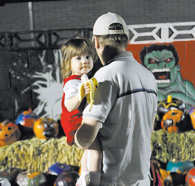 Halloween festivities are part of October's First Friday in Las Vegas.