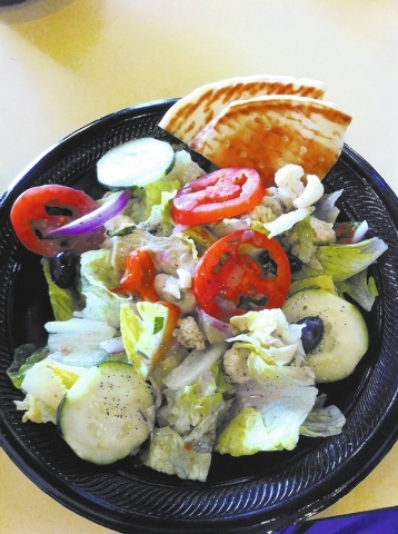 Fremont Mediterranean Cafe is in Neonopolis, 450 Fremont St. (Special to View)