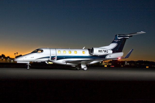Embraer Phenom 300 Jet - N67WG (Wayne Gorsek/Flickr)