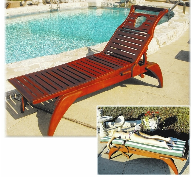 Designed especially to let the body lounge in comfort and with support to keep the spine aligned properly. The BoChaises are made of ipe wood, which is known for its durability, strength and resis ...