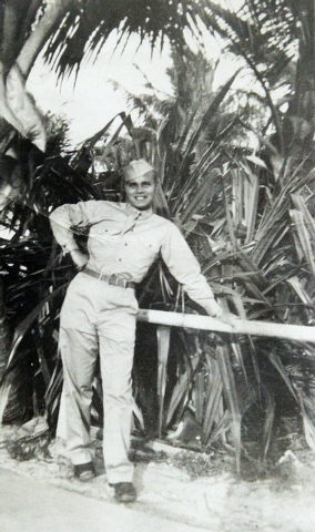 World War II veteran Ed Turken was in Miami, Fla., during basic training in 1943. (Courtesy/Ed Turken)