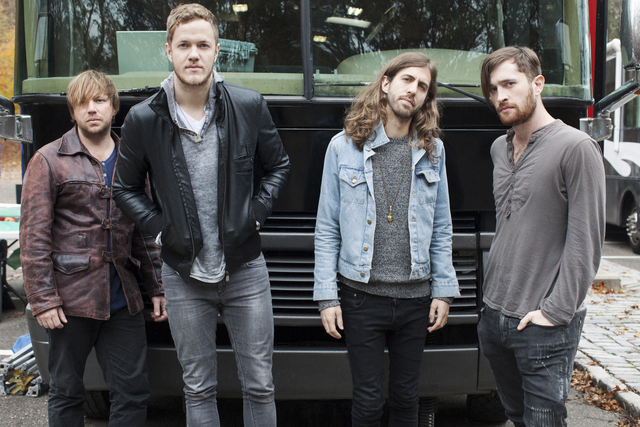 Imagine Dragons, which once thrived in downtown Las Vegas venues, has blossomed into a national arena-filling headliner. (Chase Stevens/Las Vegas Review-Journal)